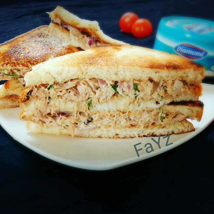 How to make Tuna sandwich