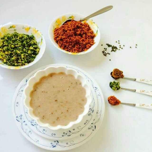 How to make Rice dal porridge