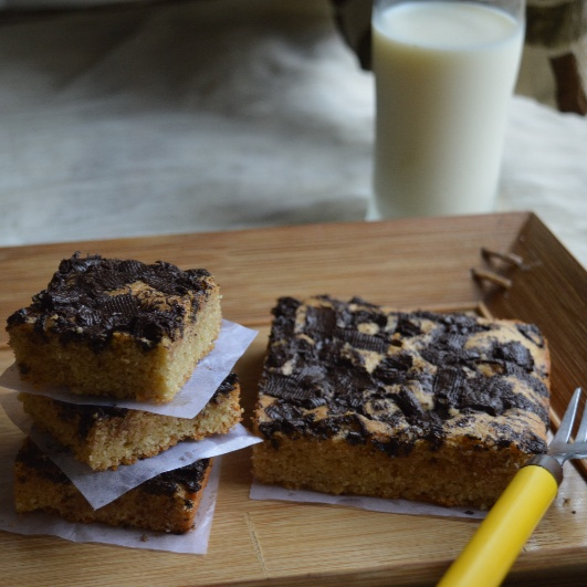 How to make Healthy White Chocolate Brownies