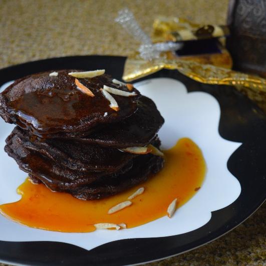 How to make Chocolate Malpuas with Orange Caramel Sauce