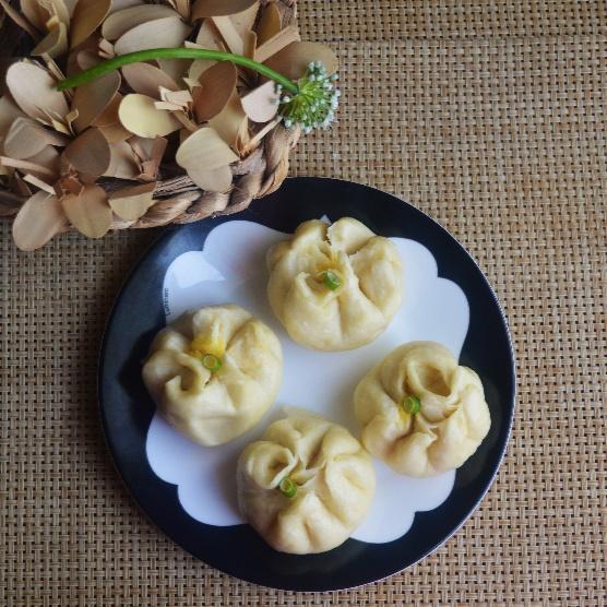 Photo of Steamed Custard Buns (Lai Wong Bao) by Femina Shiraz at BetterButter