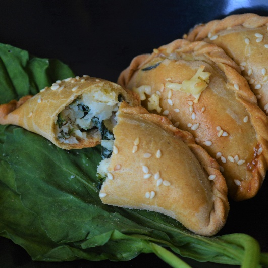 Photo of Aloo Palak Pies with the goodness of cottage cheese by Femina Shiraz at BetterButter