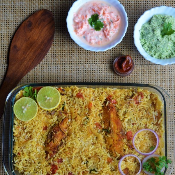 Photo of Pomfret Biriyani by Femina Shiraz at BetterButter