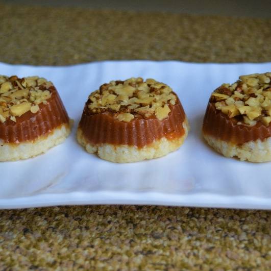 How to make Banana Caramel Fudge Cups