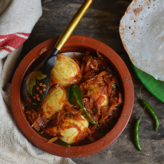 Photo of Kerala Style Egg Roast by Femina Shiraz at BetterButter