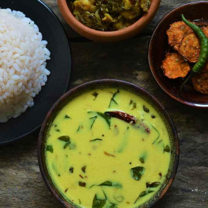 How to make Moru Curry or Moru Kachiyathu