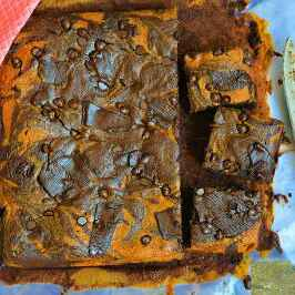 How to make Chocolate Orange Brownies with healthy twists