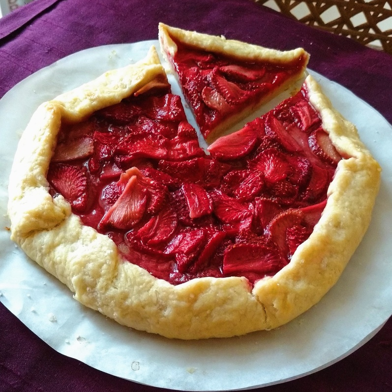 Photo of Strawberry Galette by Flours Frostings at BetterButter