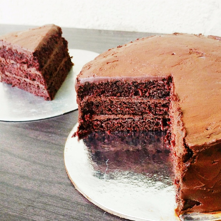 How to make Vegan chocolate truffle cake