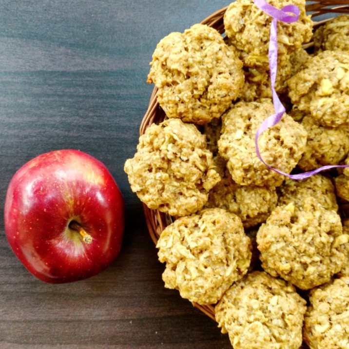 How to make Apple and oat cookies