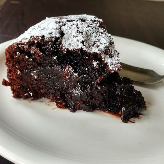 Photo of Swedish chocolate cake (Kladkakka) by Flours Frostings at BetterButter