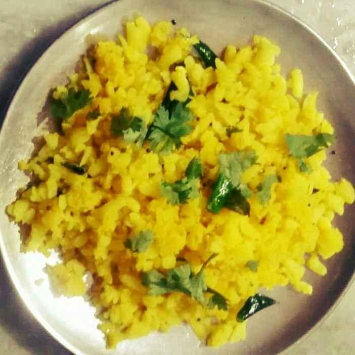 How to make Bateta poha