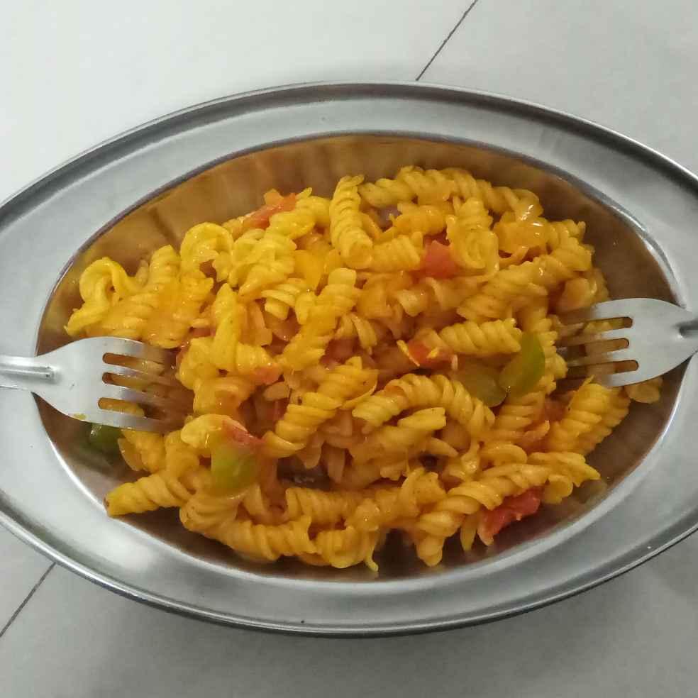 Photo of Veg.pasta (wheat pasta) by foram Kotak paneri at BetterButter