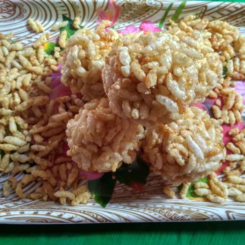 Photo of Puffed rice Laddu by Gadige Maheswari at BetterButter