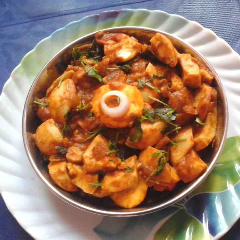 Photo of Boiled Egg Curry by Gadige Maheswari at BetterButter
