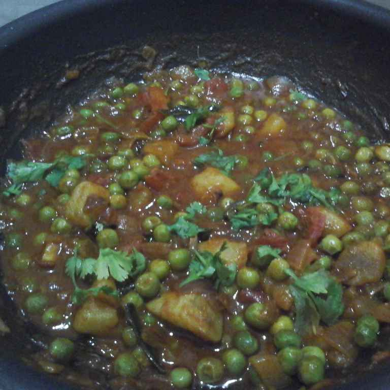 Photo of Green Peas curry by Gadige Maheswari at BetterButter