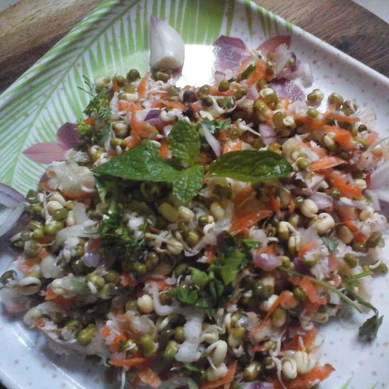 Photo of Moongdal Salad by Gadige Maheswari at BetterButter