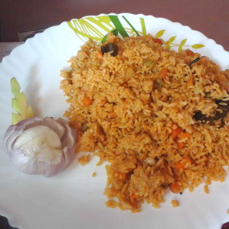 Photo of Vegetable Rice by Gadige Maheswari at BetterButter