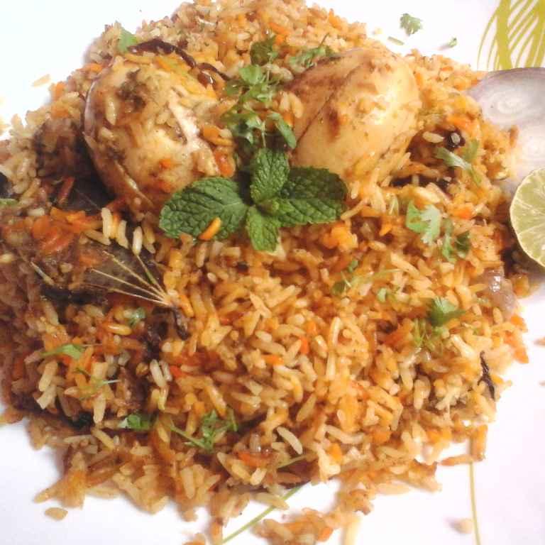 Photo of Egg  Biryani by Gadige Maheswari at BetterButter