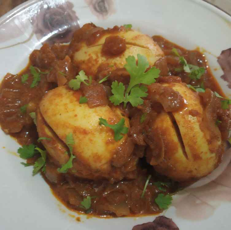 Photo of Egg curry by Gadige Maheswari at BetterButter