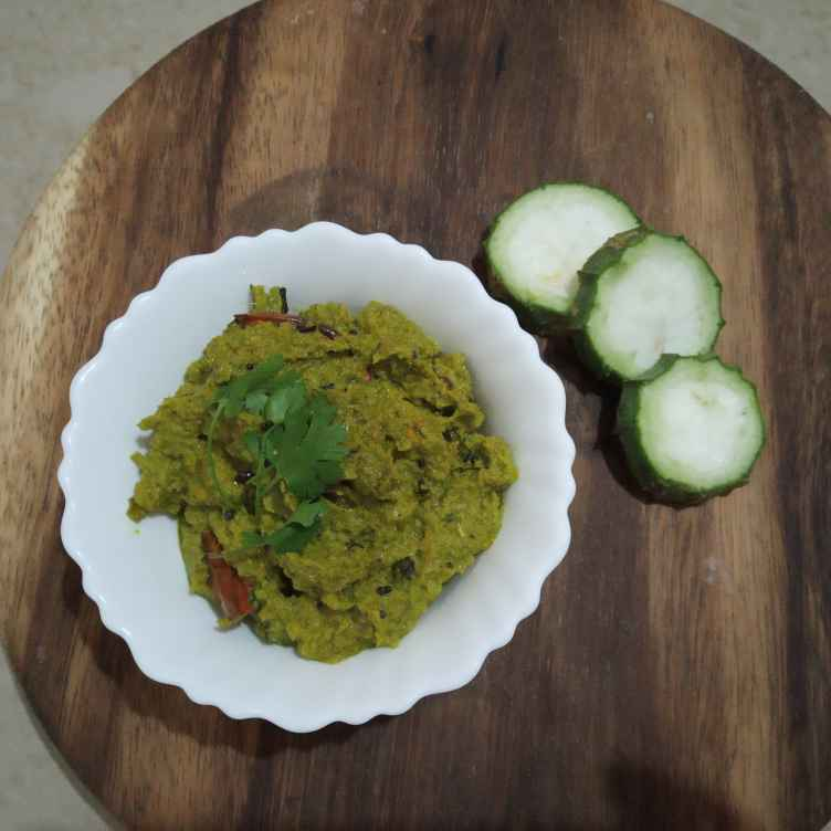 Photo of Bottle gourd skin pickle by Gadige Maheswari at BetterButter