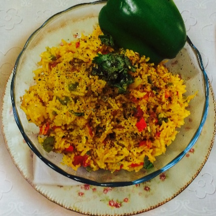 Photo of Turmeric Rice by Gagandeep Joshi at BetterButter