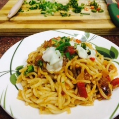 Photo of Italian Sauce with Noodles by Gagandeep Joshi at BetterButter