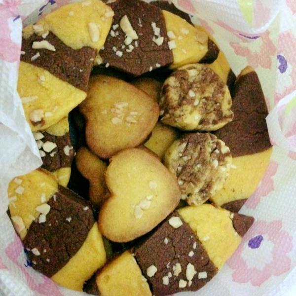 How to make Egg-less Custard Cookies