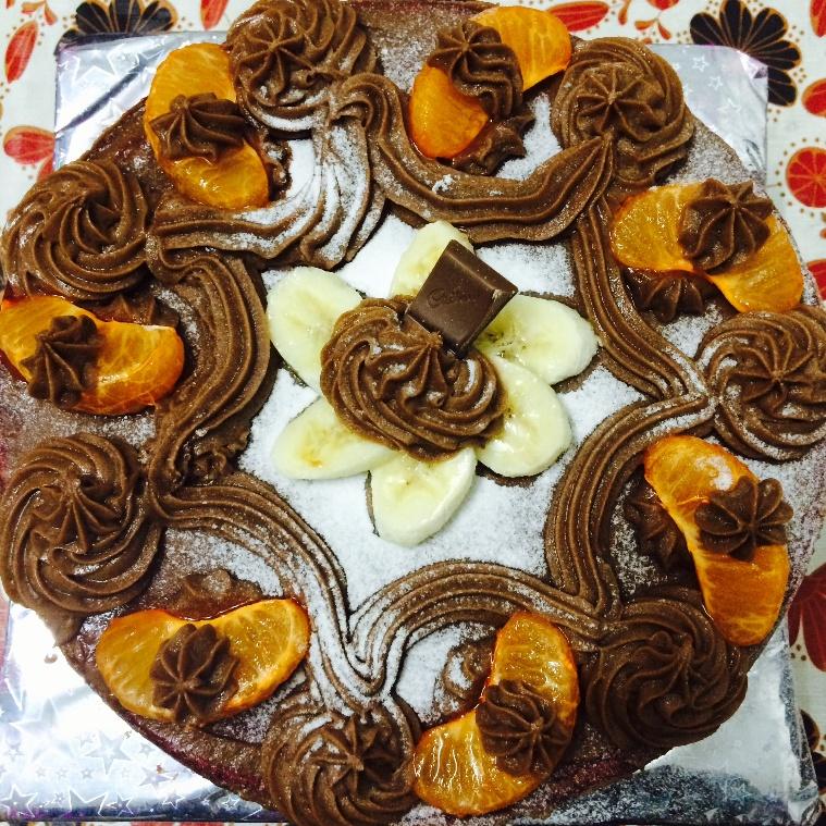 How to make Eggless Chocolate Fruit Cake
