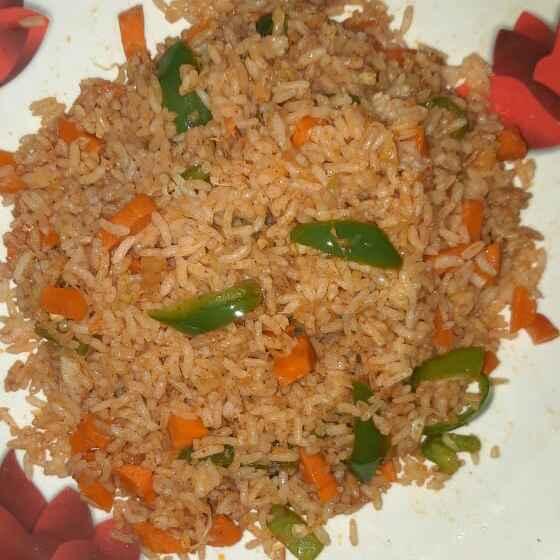 Photo of Veg fried rice by Ganeprameela  at BetterButter