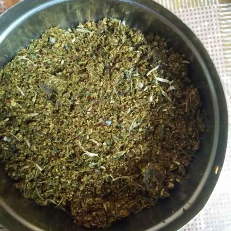 How to make కర్వేపాకు పొడి