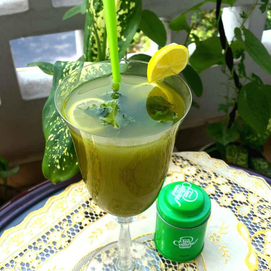 Photo of Minty Matcha Ice Tea by Gargi Gulati at BetterButter