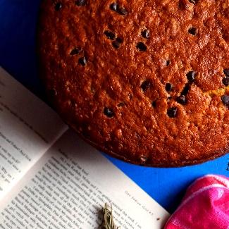 Photo of Banana Choco Chip Cake by Garima Gautam at BetterButter