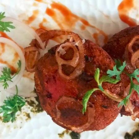 Photo of Oats Beetroot Paneer Kebab by Garima Prabhakar at BetterButter