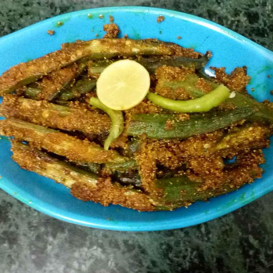 Photo of Crispy bhindi by garima singh at BetterButter
