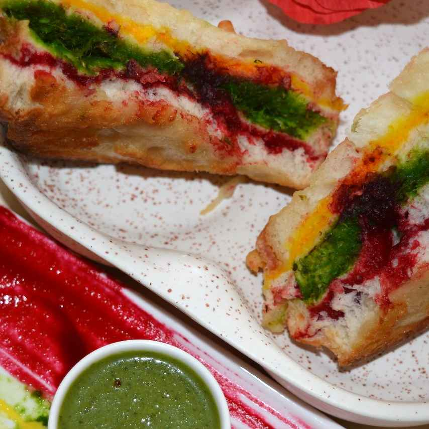 Photo of Tricolour sandwich by Garima Tiwari at BetterButter