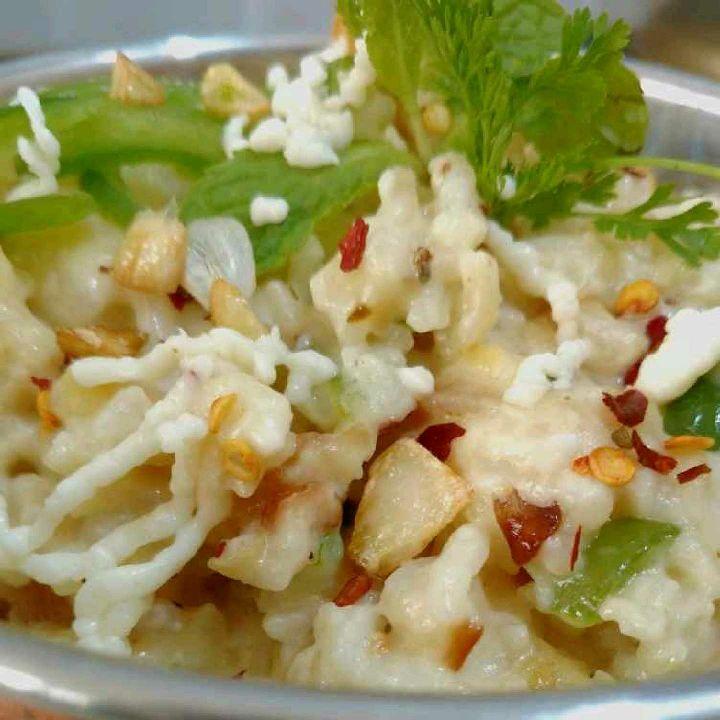 How to make White sauce khichdi