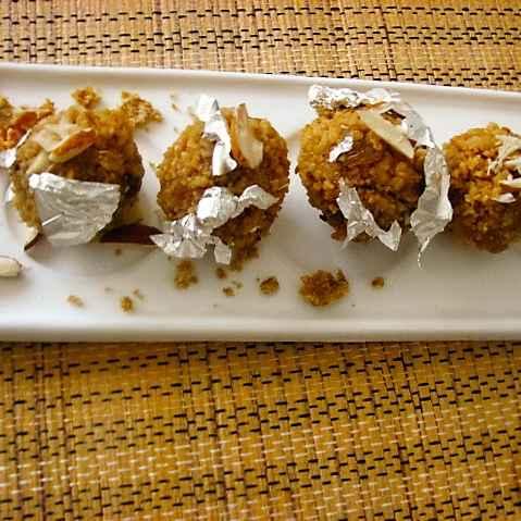 How to make Dry fruits chuema ladoo