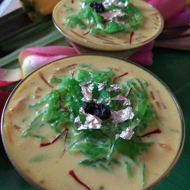 How to make Zaffrani sheer khorma with lauki ke lacche