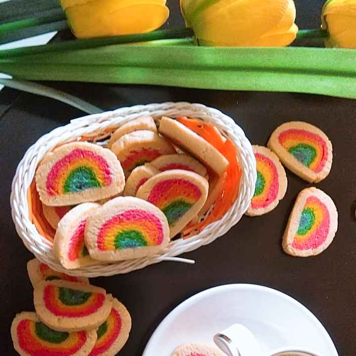 Photo of Rainbow Cookies by Garima Yadav at BetterButter