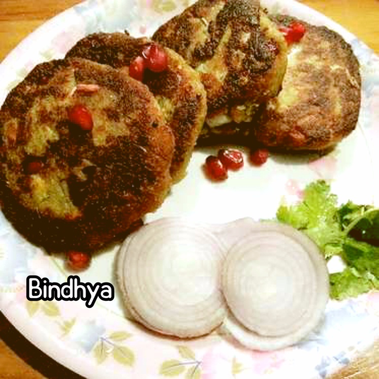 Photo of APPLE POMEGRANATE SHAMMI KABABS by Bindhya Jena at BetterButter