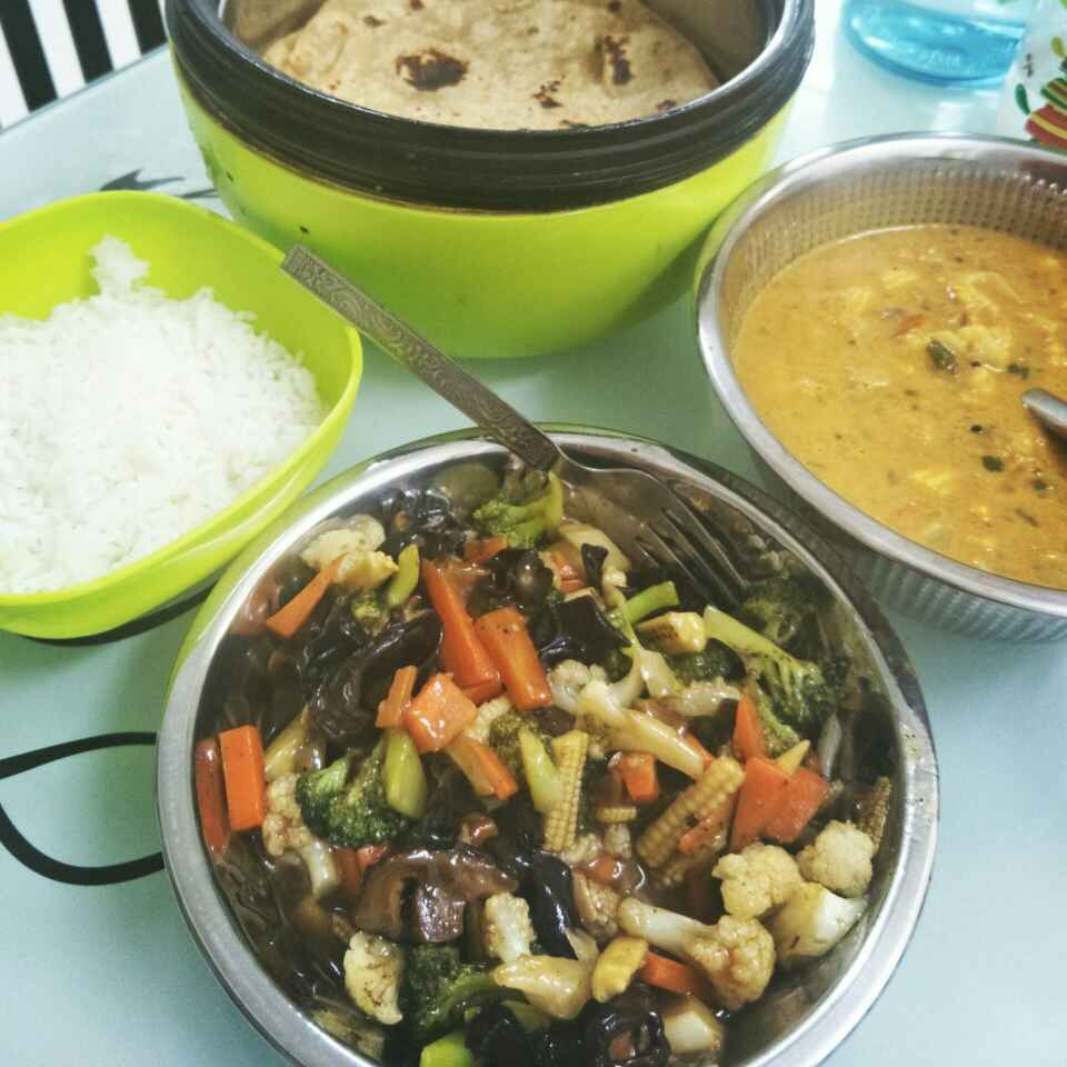 Photo of Mixed Veggies  in Oyster sauce .. So Yummmm by Gayathri Gopinath at BetterButter