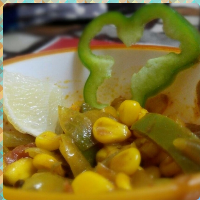 Photo of Spicy Corn Capsicum masala by GAZAL UPVEJA at BetterButter