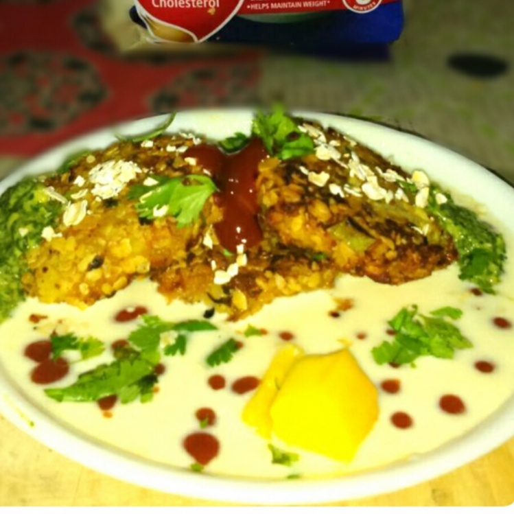 Photo of Oats Croquettes in Mango Yogurt by GAZAL UPVEJA at BetterButter