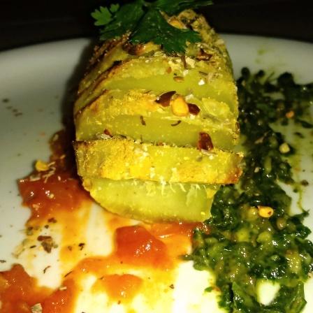 Photo of Hassleback Sweet Potato by GAZAL UPVEJA at BetterButter