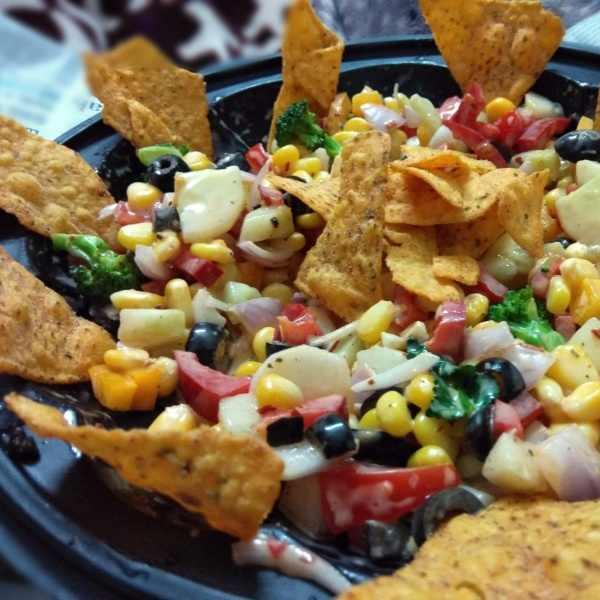 How to make Nachos Salsa Salad