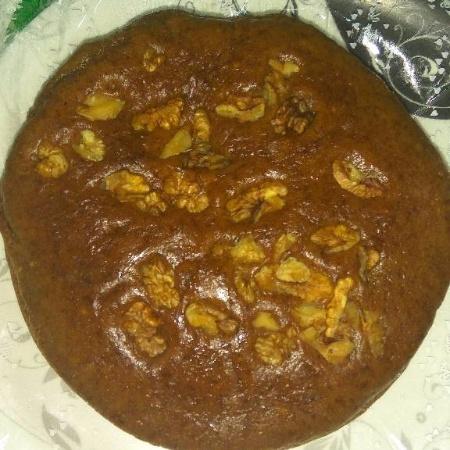 How to make BANANA WALNUT CAKE