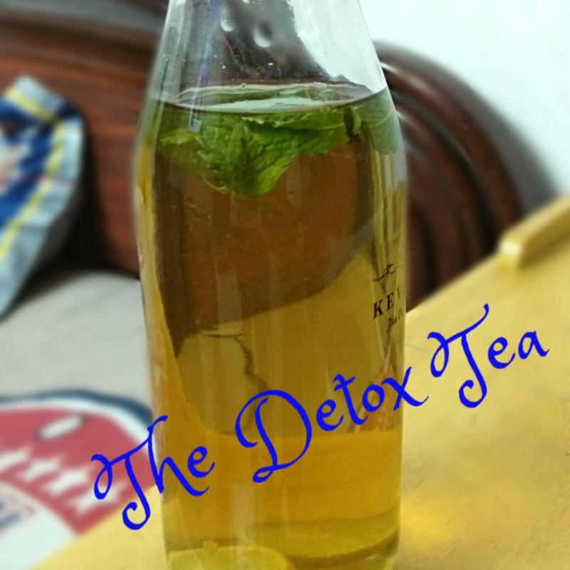 How to make The Detox Tea