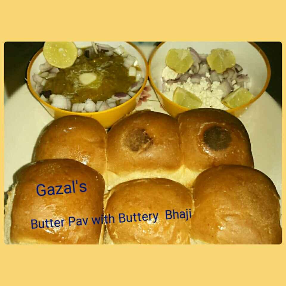 Photo of Butter Pav Bhaji by GAZAL UPVEJA at BetterButter