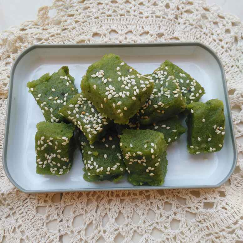 Photo of Green Matar Barfi  by Geeta Biswas at BetterButter